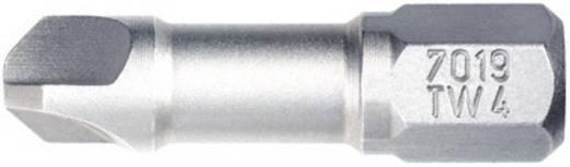 Tri-Wing-bit 4 Wiha 7019 TW ZOT 4X25 TRI-WING Chroom-vanadium staal gehard , taai C 6.3 1 stuks