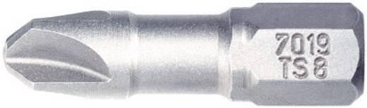 Torq-bit 2 Wiha 7019 TS ZOT 2X25 TORQ-SET Chroom-vanadium staal gehard , extra hard C 6.3 1 stuks
