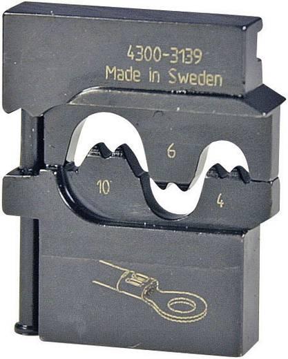 Pressmaster Krimpinzetstuk 0,5 - 2,5/4,0 - 6,0 mm² Ongeïsoleerde vorkkabelschoenen 4300-3139