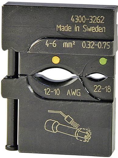 Pressmaster Krimpinzetstuk 0,5 - 1,5 mm²/1,5 - 2,5 mm² Geïsoleerde krimp-stootverbinders rood/blauw 4300-3258