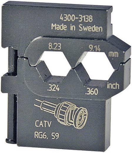 Krimpinzet Coax-connectoren RG6, RG59, 169