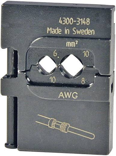 Krimpinzet Gedraaide stiftstekkerverbinders 6 tot 10 mm²<b