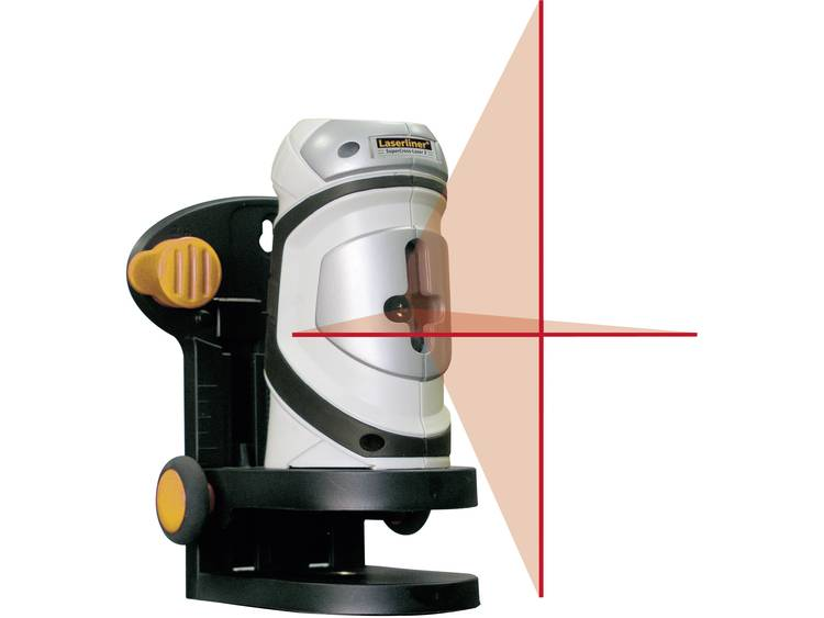 Kruislijnlaser SuperCross-Laser 2 Laserliner 081.120A Afleesnauwkeurigh