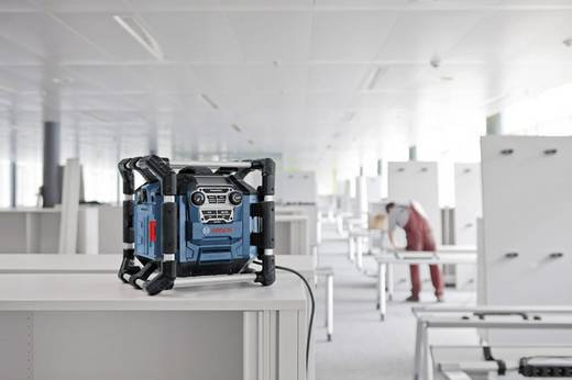 FM Bouwradio Bosch GML 20 Blauw, Zwart
