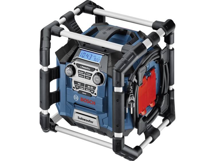 Bosch Professional GML 20 Bouwradio FM Blauw, Zwart