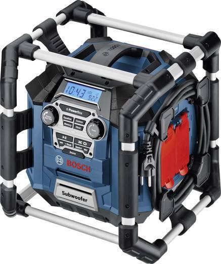 Bosch Professional GML 20 FM Bouwradio Blauw, Zwart