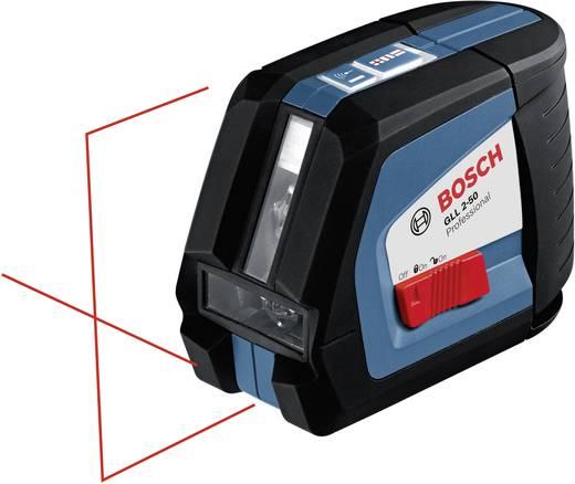 Bosch Professional GLL 2-50 P + BS 150 P Lijnlaser Zelfnivellerend Reikwijdte (max.): 20 m Kalibratie mogelijk: Zonder