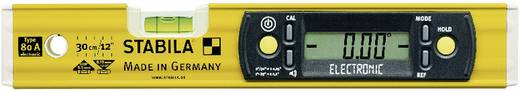 Digitale waterpas 31.5 cm Stabila 80 A ELECTRONIC 17323 0.5 mm/m Kalibratie: Zonder certificaat