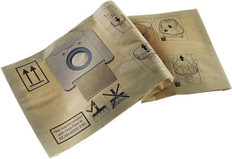 Image of Nilfisk Papieren filterzak annex afvalzak 10 stuks 82367820 Geschikt voor Nilfisk Alto Saltix 10,