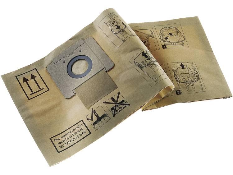 Nilfisk Papieren filterzak annex afvalzak 10 stuks 140 8618 000 Geschikt voor Nilfisk Alto Saltix 10.