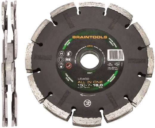 ALL IN ONE-diamantdoorslijpschijf LD402 125 x 7 x 18 x 22,23 mm Rhodius 303670 Diameter 125 mm Binnendiameter 22.23 mm