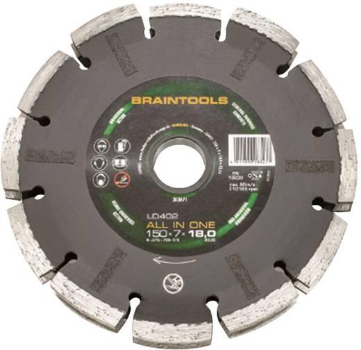 ALL IN ONE-diamantdoorslijpschijf LD402 150 x 7 x 18 x 22,23 mm Rhodius 303671 Diameter 150 mm Binnendiameter 22.23 mm