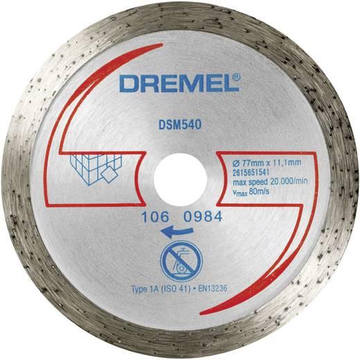 Doorslijpschijf diamant DSM 540 Dremel 2615S540JA Diameter 77 mm 1 stuks