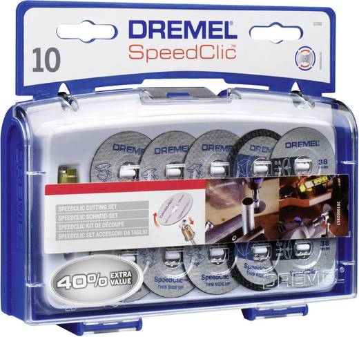 Dremel SpeedClic snijset 12dlg Dremel 2.615.S690.JA Diameter 38 mm 1 set