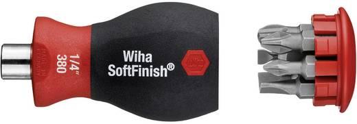 """Wiha Stubby Werkplaats Magazijnschroevendraaier 1/4"""" (6.3 mm) DIN 3126, DIN ISO 1173"""