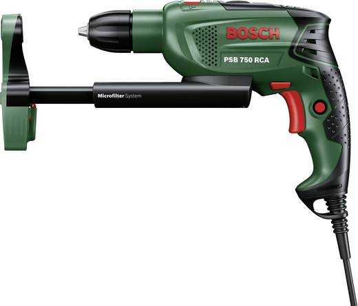 Bosch Home and Garden PSB 750 RCA Klopboormachine 750 W incl. koffer