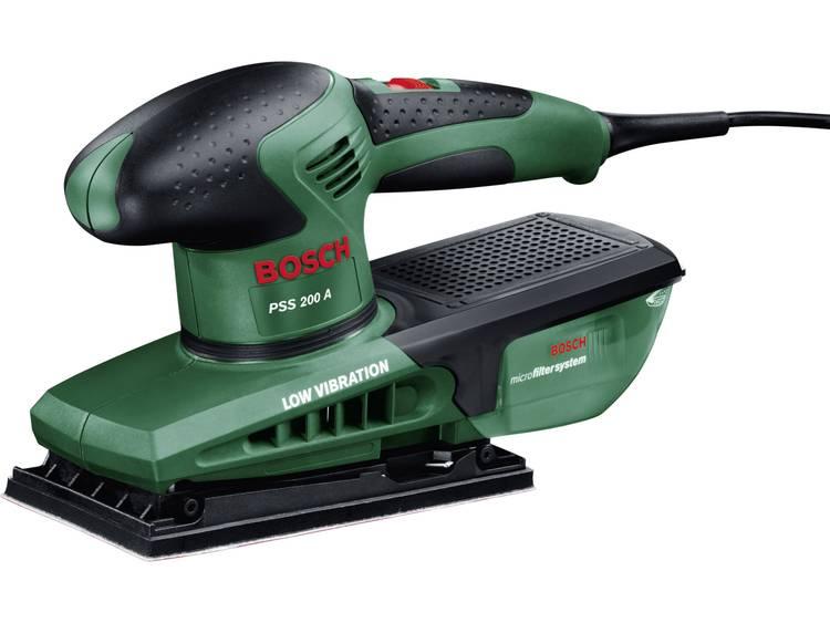Vlakschuurmachine Incl. koffer 200 W Bosch Home and Garden PSS 200 A 0603340300 115 x 230 mm