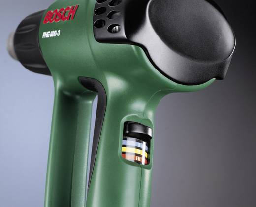 Bosch Home and Garden PHG 600-3 060329B060 Heteluchtpistool incl. koffer 1800 W