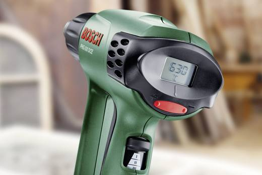 Bosch Home and Garden PHG 630 DCE 060329C760 Heteluchtpistool incl. accessoires, incl. koffer 2000 W