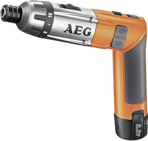 Accu-knikschroefmachine AEG Powertools SE 3,6 incl. 2 accu's, incl. koffer 3.6 V 1.5 Ah Li-ion