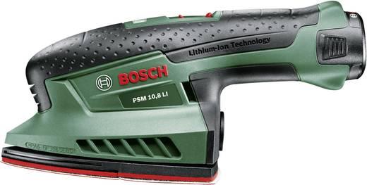 Bosch PSM 10,8 LI Accu-multischuurmachine incl. accu, incl. koffer 10.8 V 1.5 Ah