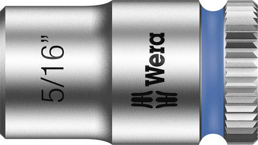 "Wera 05003518001 Inbusdop Dopsleutelinzetstuk 5/16"" 1/4"" (6.3 mm) Afmeting, lengte: 23 mm"
