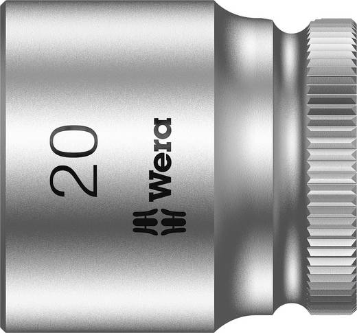 "Wera 05003565001 Inbusdop Dopsleutelinzetstuk 20 mm 3/8"" (10 mm) Afmeting, lengte: 30 mm"
