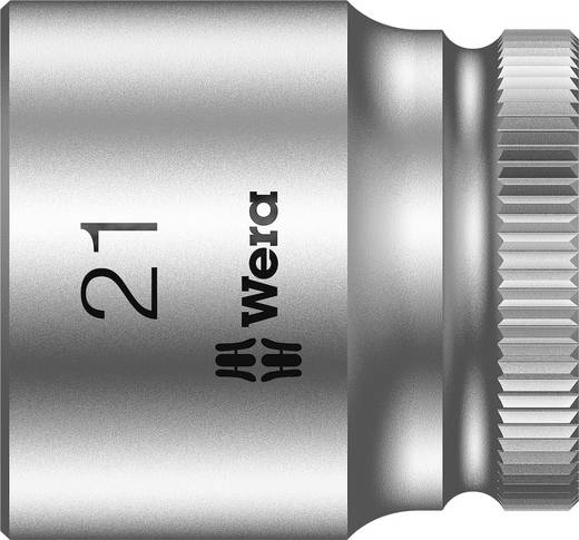 "Wera 05003566001 Inbusdop Dopsleutelinzetstuk 21 mm 3/8"" (10 mm) Afmeting, lengte: 30 mm"