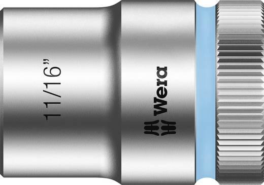 "Wera 05003624001 Inbusdop Dopsleutelinzetstuk 11/16"" 1/2"" (12.5 mm) Afmeting, lengte: 37 mm"