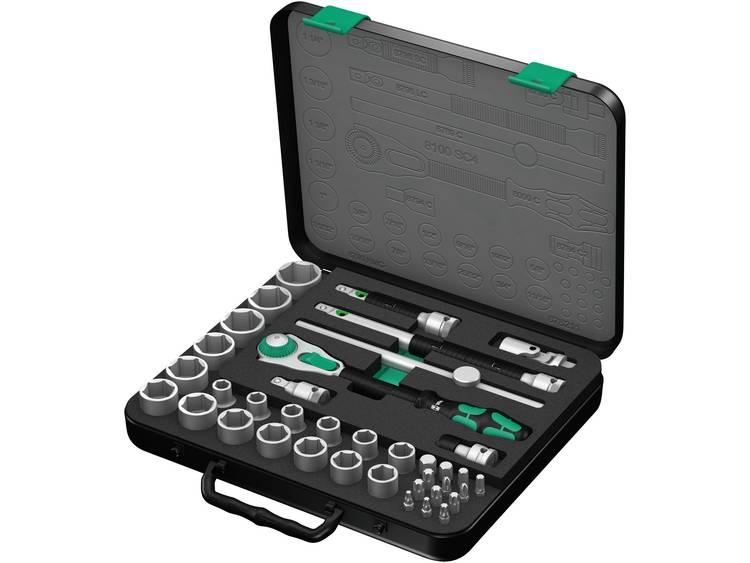 Wera 38-delig 8100 SC 4 Zyklop ratelset 1-2 05003647001
