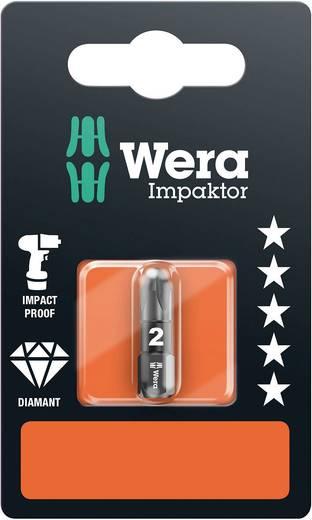 Wera 855/1 IMP DC PZ 3 x 25 mm SB Kruis-bit PZ 3 Gereedschapsstaal Diamant gecoat D 6.3 1 stuks