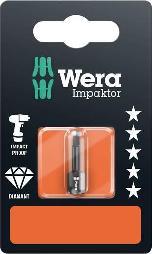 Vierkant-bit Wera 868/1 IMP DC # 2 x 25 mm SB Gereedschapsstaal gelegeerd, Diamant gecoat D 6.3 1 stuks