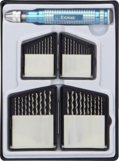 Donau Elektronik HSS250 HSS Metaal-spiraalboorset DIN 338 Cilinderschacht 1 stuks