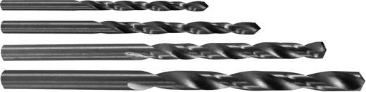 HSS Metaal-spiraalboorset 4-delig Donau 1722 geslepen Cilinderschacht 1 set