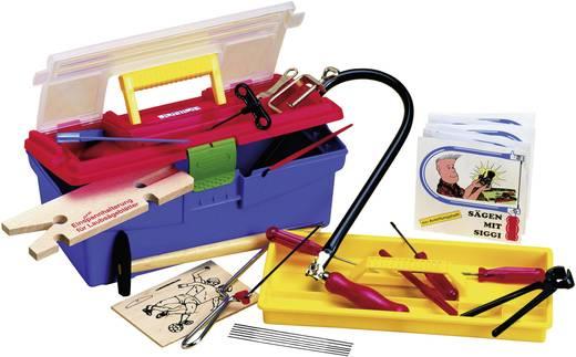 Donau Figuurzaagset in kunststof box met veel accessoires M640S