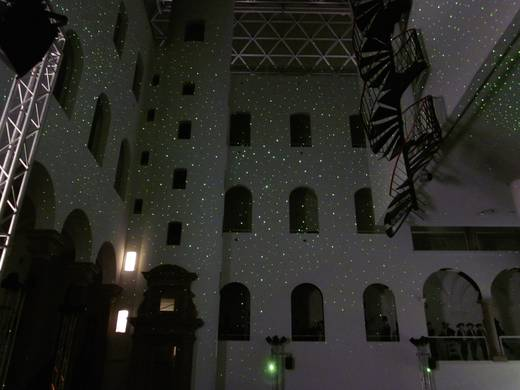 Picotronic STAR-PROJECTOR-NANO Sterrenhemel projector DOE Groen 5 mW