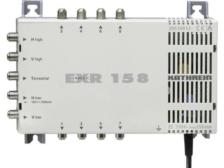 Kathrein EXR 158 Satelliet multiswitch Ingangen (satelliet): 5 (4 satelliet / 1 terrestrisch) Aantal gebruikers: 8