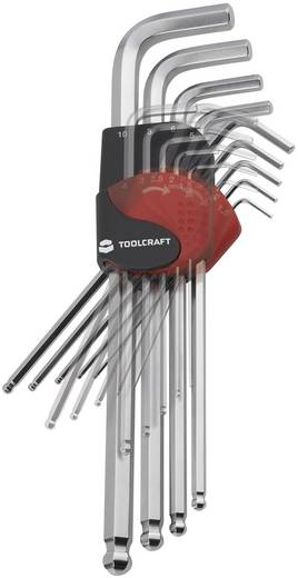 TOOLCRAFT Set inbussleutels 9-delig 819147