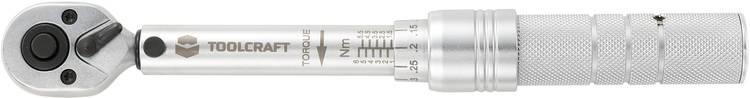 6.3 mm (1 4) Minimomentsleutel Lengte 210 mmTOOLCRAFT819161