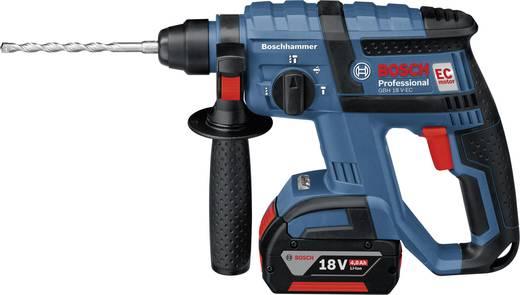 Bosch GBH 18 V-EC 18 V Accuboorhamer + 2 accu's 4,0 Ah1,7 J0611904