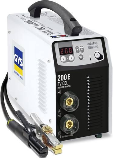 GYS PROGYS E200 CEL Professionele elektrode-lasinverter 5 - 200 A