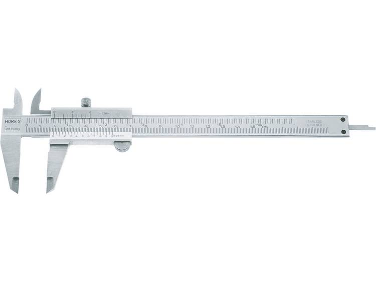 Zakschuifmaat DIN 862 Horex 2226518 Meetbereik(en) 200 mm