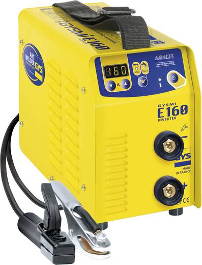 GYS Lasapparaat GYSMI E160 016002 Voedingsspanning 230 V / 50 Hz Lasstroom 10 - 160 A Diameter elektrode 1,6 - 4 mm