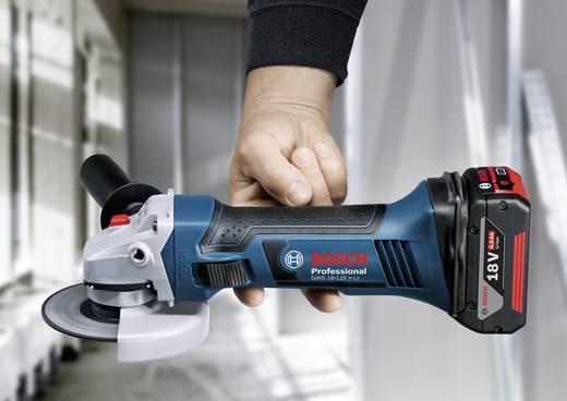Bosch Professional GWS 18-125 V-LI Haakse slijper 2 x 4,0 Ah Li-ionaccu