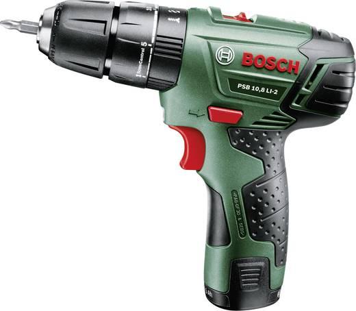 Bosch PSR 10,8 LI-2 accu-klopboormachine incl. 2 accu's en koffer
