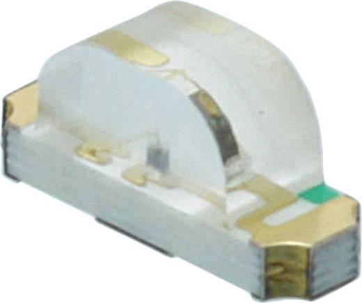 Dialight SMD-LED 1208 Rood, Groen, Blauw 120 mcd, 220 mcd, 90 mcd 160 ° 20 mA 2 V, 3.2 V
