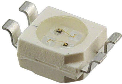 OSRAM SMD-LED SMD-4 Groen, Oranje 4.45 mcd, 11.25 mcd 120 ° 2 mA 1.8 V