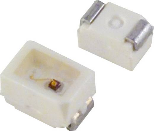 OSRAM SMD-LED SMD-2 Rood 140 mcd 120 ° 20 mA 2 V