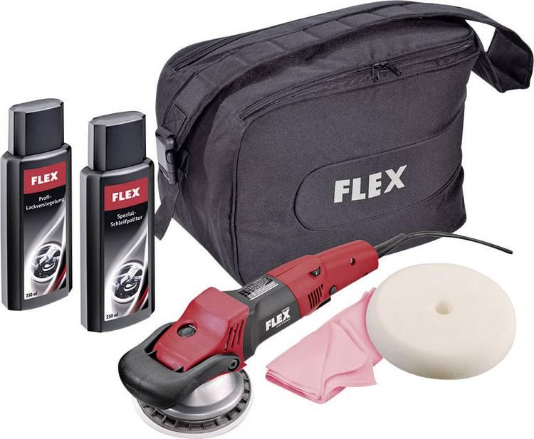 Excentrische polijstmachine 230 V 1010 W Flex 334.081 XC 3401 VRG-SET 160 - 480 omw min 160 mm