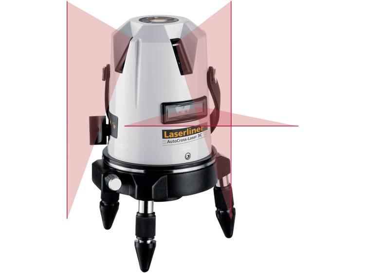 Kruislijnlaser ACL 3C PowerBright Laserliner 031.212A Afleesnauwkeurigh